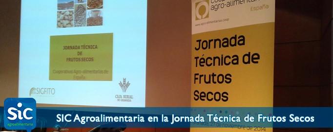 SIC Agroalimentaria en la Jornada Técnica de Frutos Secos