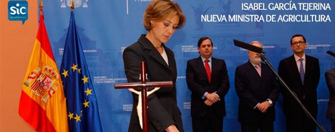 Nueva Ministra de Agricultura. Isabel García Tejerina