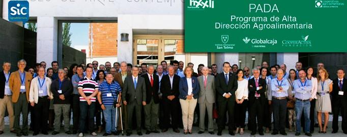 La Fundación Horizonte XXII Globalcaja y Cooperativas Agro-alimentarias Castilla-La Mancha han inaugurado hoy su Programa de Alta Dirección Agroalimentaria-PADA