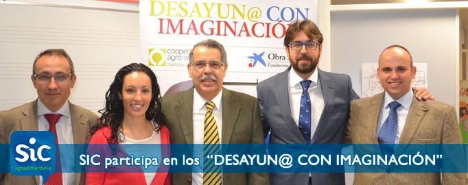 """SIC participa en los """"DESAYUN@ CON IMAGINACIÓN"""" que se desarrollarán en colegios castellano-manchegos hasta final de año"""